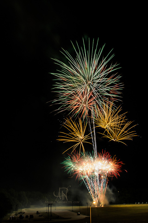Plano Texas Fourth of July Fireworks
