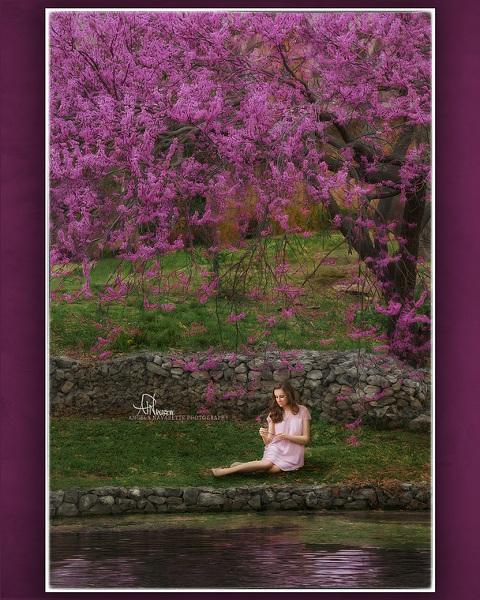 Plano Spring Time Senior Portraits. Plano Senior Photographer. Angela Navarette
