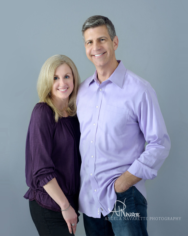 Z Natural Life Co-Founder, husband and wife team, Bill and Liz pose for business portrait photography