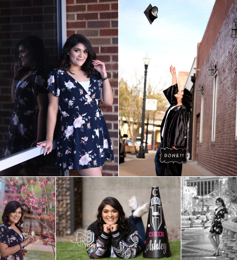 Texas Senior Pictures Session in historic downtown El Paso