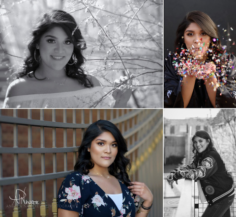 Texas Senior Pictures Session in historic downtown El Paso area